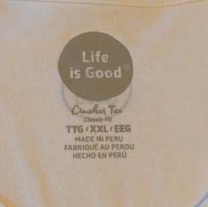 Life Is Good Tops - Life Is Good Tee
